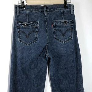 Levis Womens Perfectly Slimming Flare Size 10
